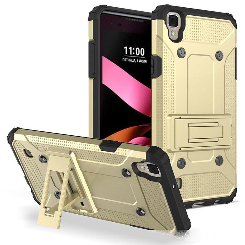 Für Samsung Galaxy S8 J3 J7 Prime On5 Stoßfest Telefonkasten mit Gürtelclip Heavy Cases für iPhone LG Aristo Stylo 3 ZTE Blade Z max Alcatel