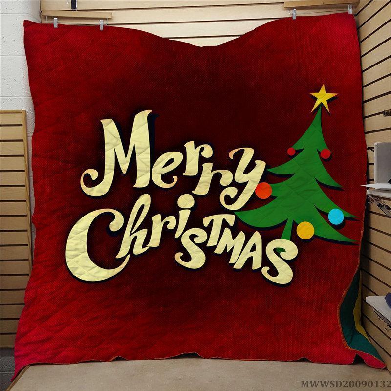 Joyeux Christma Creative Snowmen Imprimer Couette à la mode Soft Soft Decoration pour toutes les saisons