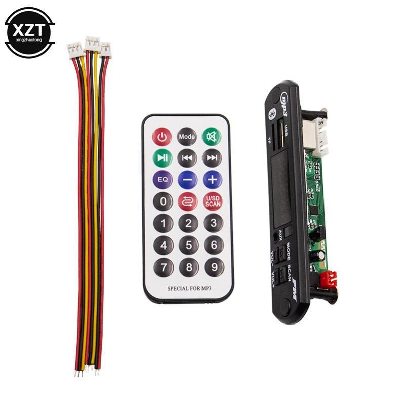 Carro Bluetooth MP3 Decodificando Módulo Sem Fio USB MP3 Player SD / USB / FM / Decodificação Remota Decodificação Módulo Tela Big