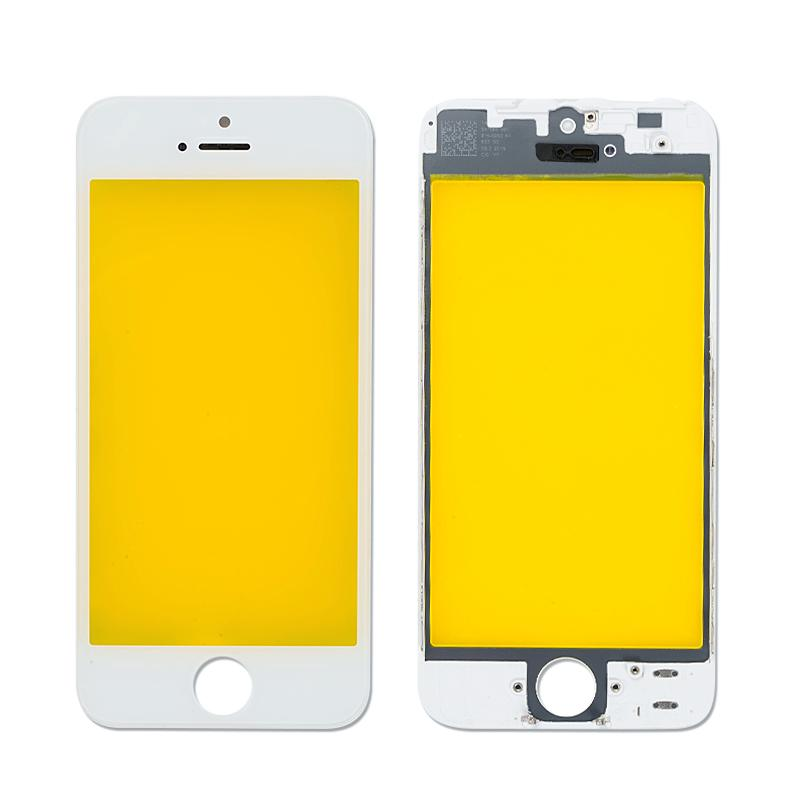 4.0 inch Glass for iPhone 5 5C 5S Touch Screen LCD Front Touch Panel Glass Outer Lens Screen Digitizer + Frame Free Shipping