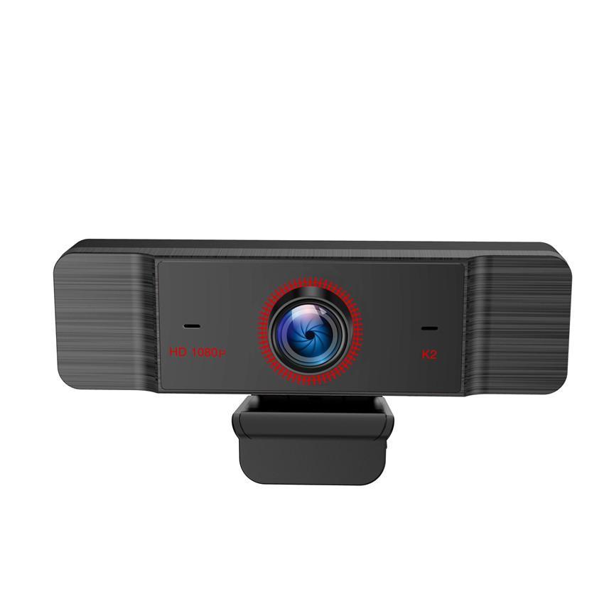 Full HD 1080P 2k USB Webcam с широкоугольным объективом микрофон динамика видео чата Live Web камеры клип на компьютере для ПК для сетевого образования