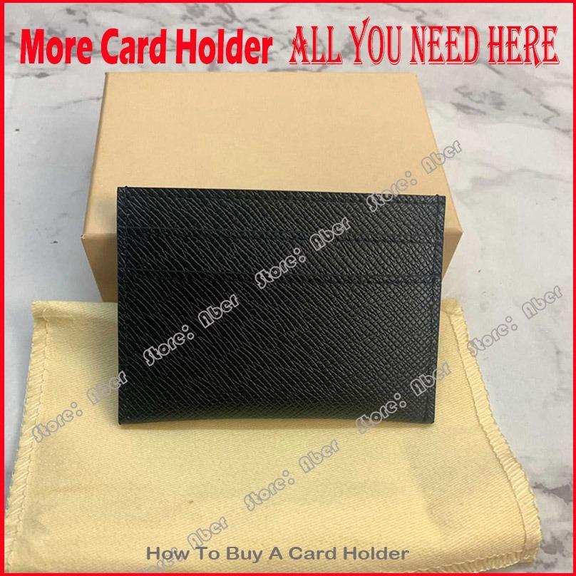 Top Small Men Mini Genuine Carta Carta Cardholder Credit Headys Holders Donne Brand Womens Portafogli Qualità Designer in pelle Portafoglio Unisex Ca KQro