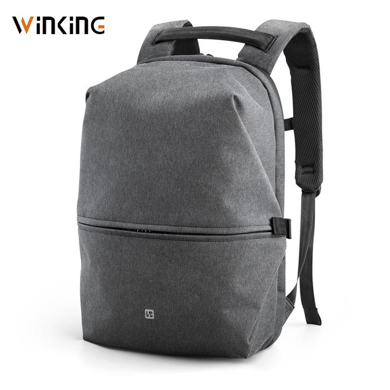 Kingsons Nuovo Zaino per laptop da 15 pollici da 15 pollici Borsa da uomo di alta qualità USB ricarica di spazio multistrato Viaggio Borsa maschile Anti-ladro Mochila