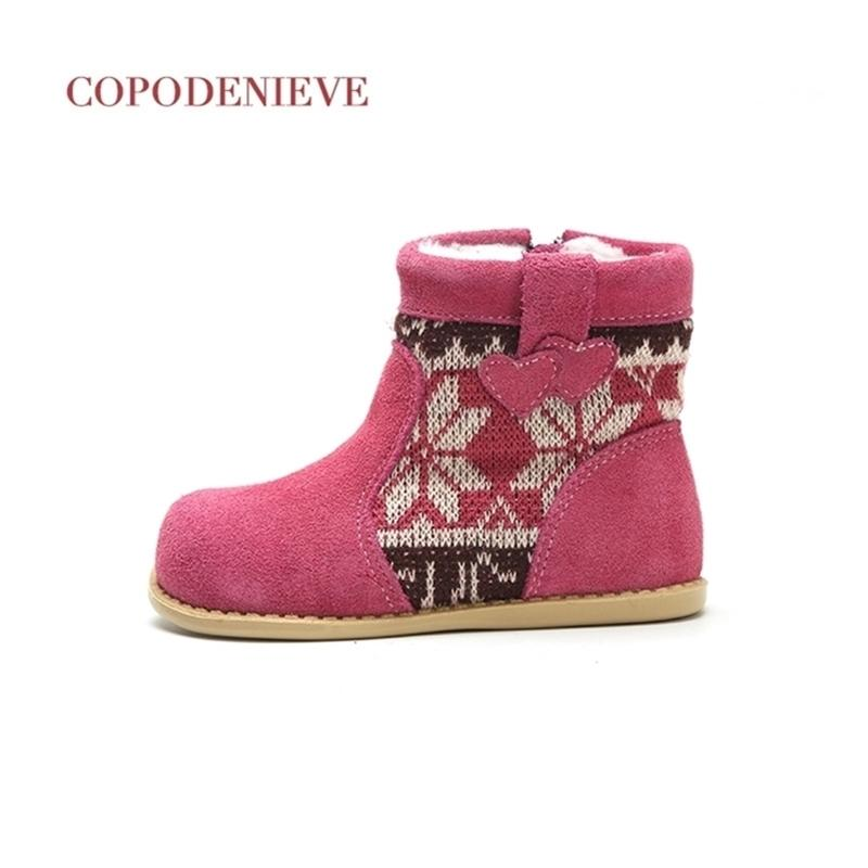 Коповедение зимние теплые детские мода водонепроницаемый детская обувь, девочки мальчики ботинки идеально подходят для детей аксессуары 201225