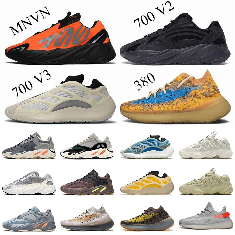 Wholesale Kanye West 700 para mujer Botas para hombre Tamaño Tamaño 13 VANTA 700 V3 Azael Azareth Lmnte 380 Pepper Trainers Sneakers EUR 47