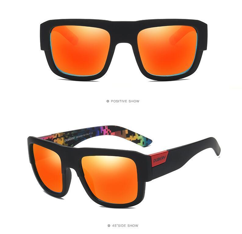 Nouveaux lunettes de soleil carrées de haute qualité Hommes Polarized Sun Lunettes Retro Vintage Goggles Femmes Mode Uv400 Conduite Eyewear