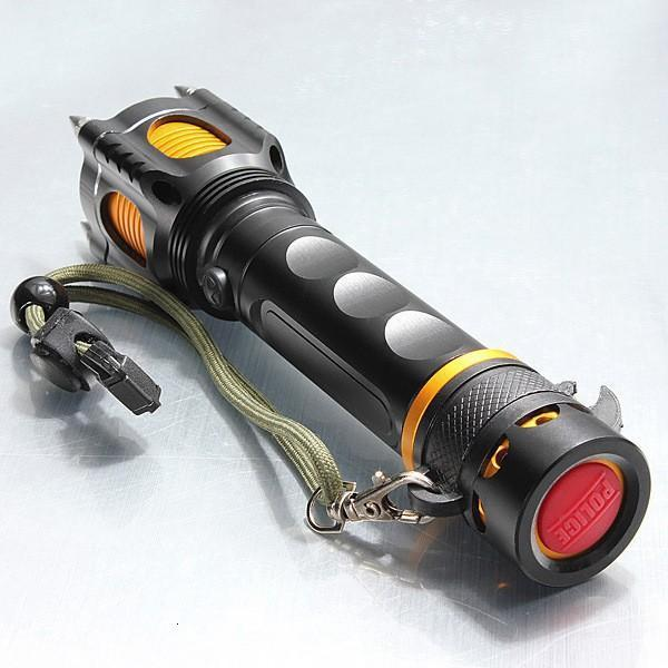 LED Tactical XML 5 Lighting T6 Modes Camping Torch Lantern Lamp Self Defense Rechargeable Flashlight 1 NOWLA