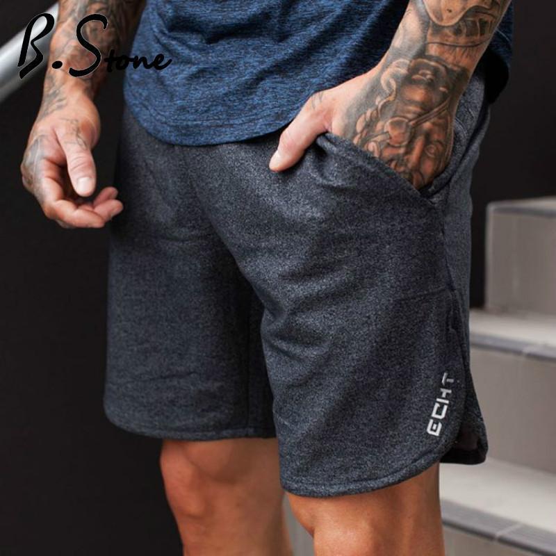 Мужские шорты мужские летние фитнес-спорты мода досуг Crossfit BodyBuilding тренировки бегуны мужские короткие брюки бренда одежда