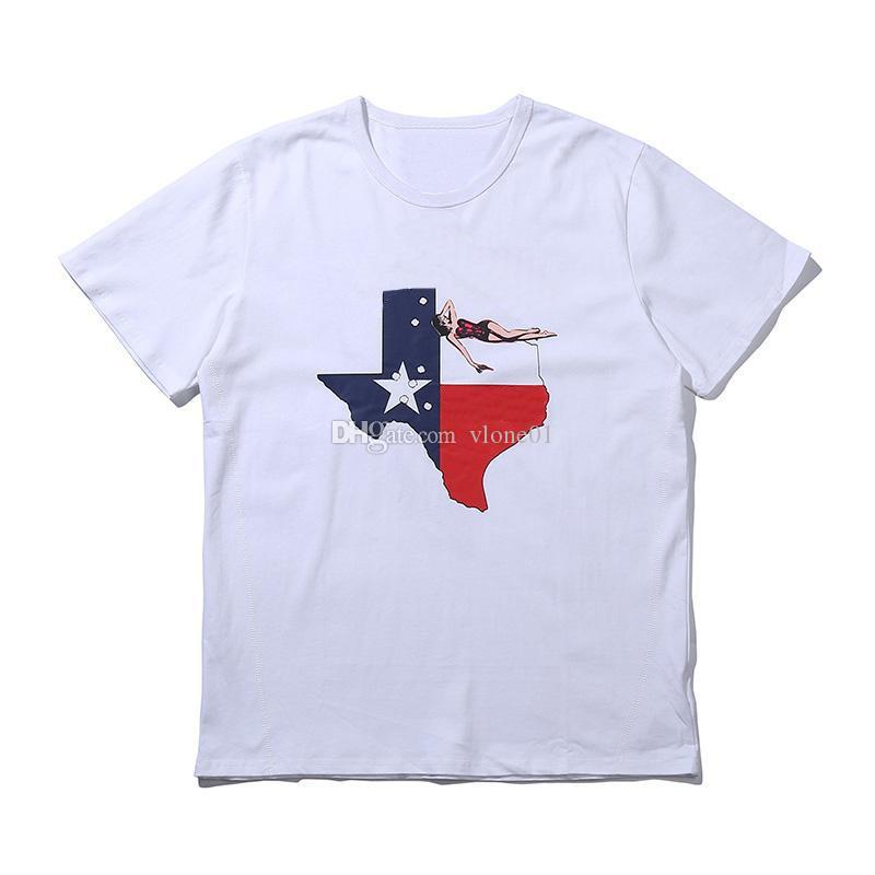 Hommes T-shirt Vie Hommes Femmes T-shirt Haute Qualité Noire Blanc T-shirt Tableau Taille S-XL