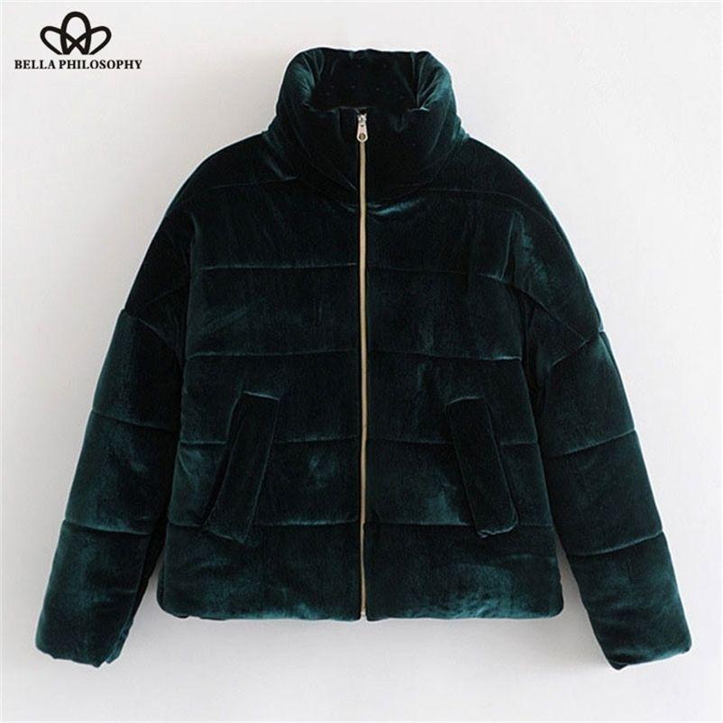 Bella Philosophie Winter épais WORM solide fausse fourrure Femme manteau manteau courte velours de velours flanelle en flanelle