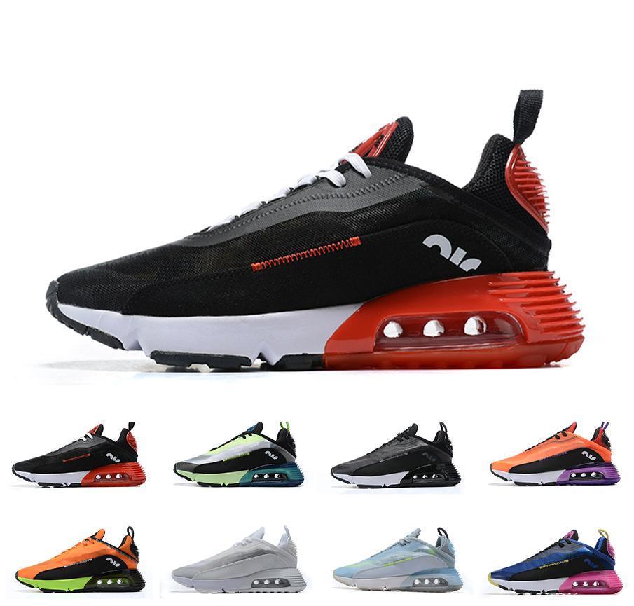 Hommes 2090 Chaussures de course femme de haute qualité Mesh Lovers Designer coussin d'air Chaussures de sport GYM 2090S marche quotidienne Formateurs Casual Taille 36-46