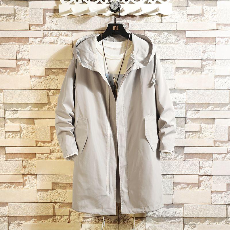 2020 masculino casual casual casaco longo trench casaco para homem primavera roupas de inverno kal7