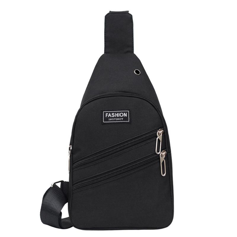 2021 Fashion Nylon toract Bag Unisex Lettera Solid Lettera Borsa a tracolla Zipper Versatili Borse e Borse Bolsa Feminina Bolsos Mujer