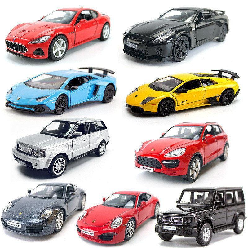 En Çok Satan 1:36 Alaşım Araba Modeli Oyuncak Geri Çekin Araba GTR Oyuncak Spor Araba Modeli Çocuk Oyuncakları Süsler Çocuk Hediyeler