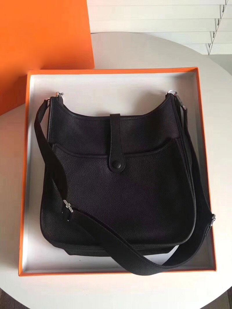 Femininas Senhoras Bolsas de Embraiagem Clássico Evelyn Calfskin Genuíno Couro Top Quality Designer Handbags Hollow Out Messenger Ombro Bolsas