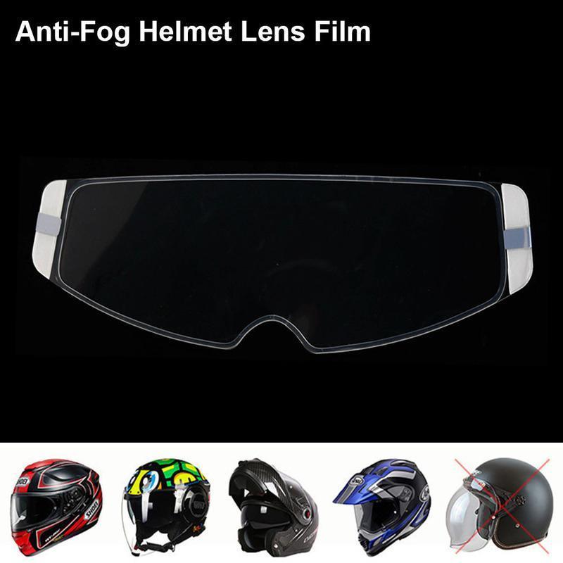 Casco de la motocicleta de la lente anti-vaho de la película de la cara llena de LS2 Casco HJC AX8 Marushin moto accesorios de la motocicleta