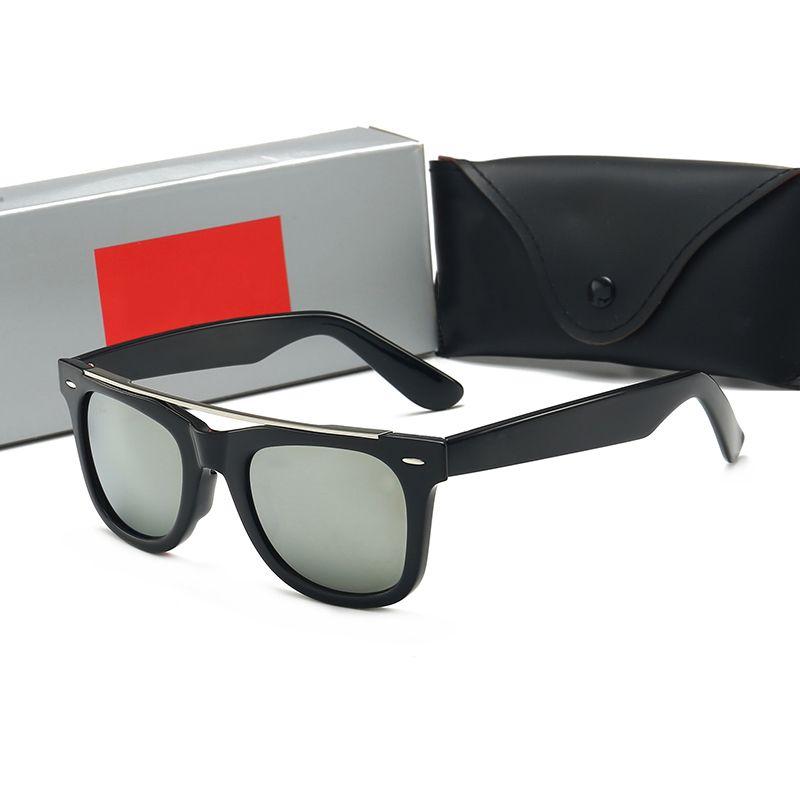 Hoch mit hochwertiger sonnenbrille luxus farben designer gläser adumbral glas box uv400 su mens 2020 neu für vkdis
