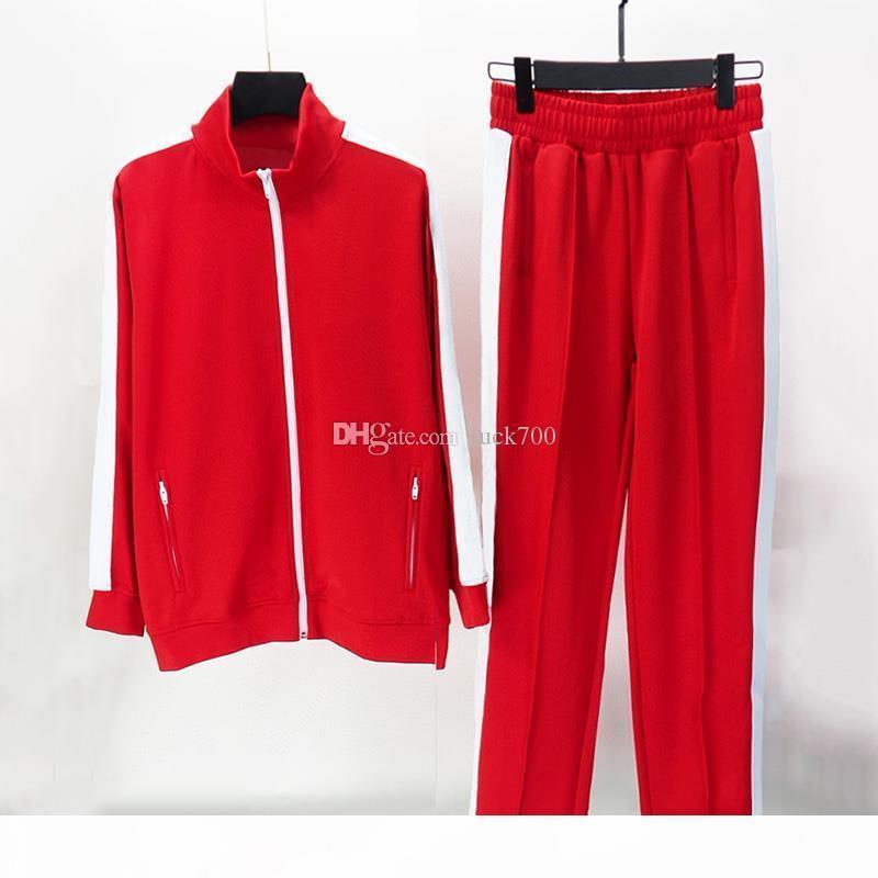 2020 Erkek Eşofman Tişörtü Takım Elbise Erkek Kadın Parça Taze Mont Erkek Ceketler Coat Hoodie Sweatshirt Spor