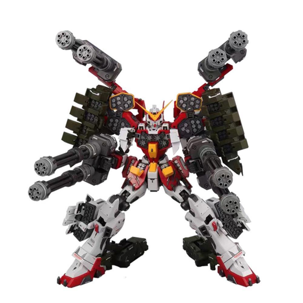 Аниме в наличии MG 1/100 Super Nova XXXG-01H EW Gundam Heavy Here Arms Custom The Future Igel Model Model Kit Action Fight Robot Hot Kids Toy