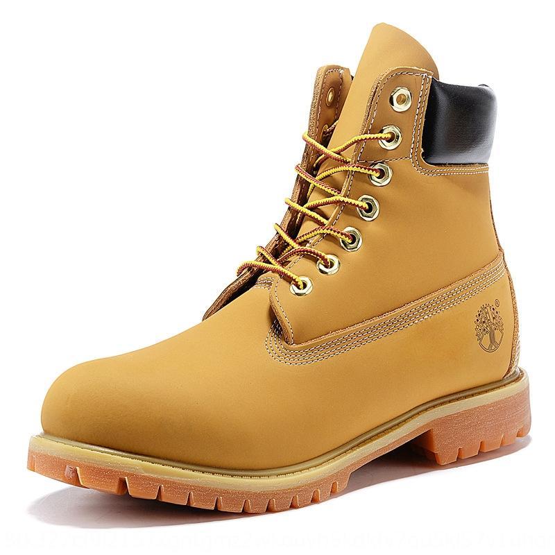 1FOA DHZY MENS KHAKI CHAASSE Chaussures Beige Bottes Casual Bottes Casual Noir Britannique Haut-Top Haut-Top Outillage résistant à l'usure