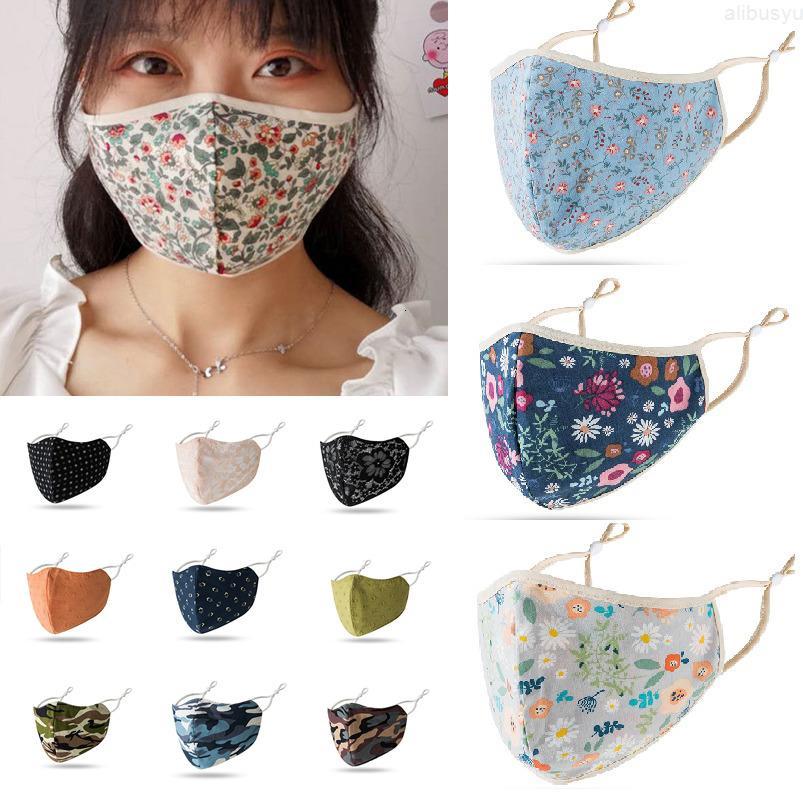 Maske und Gesicht 23 Atmungsaktive Männer Stil Frauen Maske Sommer Design Schatten Staubdicht Atmungsaktiv Flut Männliche Waschmaske Verstellbare Ohr Bucklas