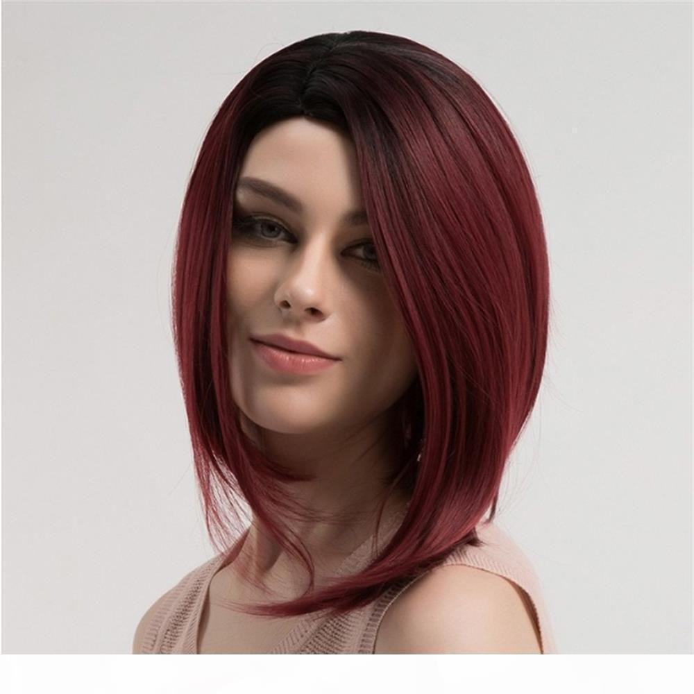 150 densité brésilien vierge cheveux pleine dentelle humaine cheveux perruques bob perruques ombre couleur t1b 99j droit dentelle frontale perruque de cheveux humains
