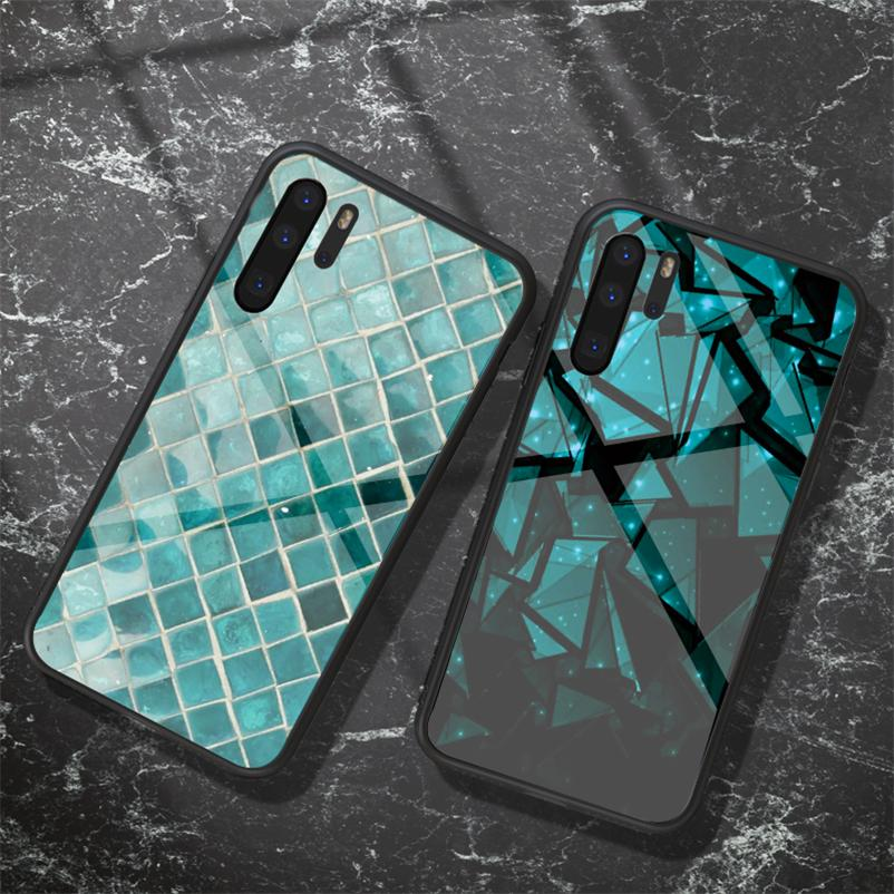 Закаленное стекло Coque для Huawei P Smart P20 Lite 2019 P30 P9 P10 Plus Mate 9 10 20 20x Pro Nova 3 3i 3e 4 Телефон Case TPU FUNDA