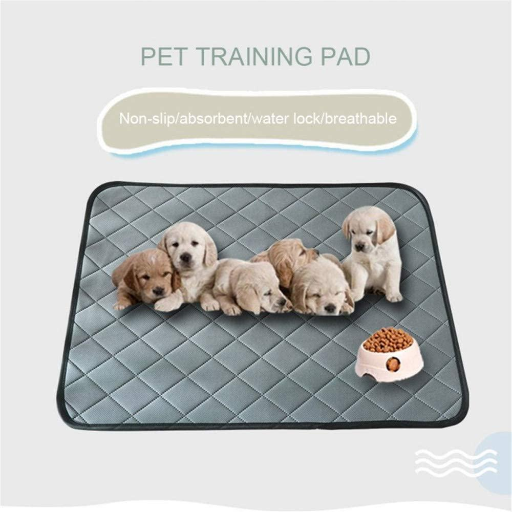 Dog Pee Pads Puppy Training Mats Washable Reusable, Pet Pee Pad with 4 Layer Structure Strong Water Absorption Leak-Proof Non-Slip for Cat