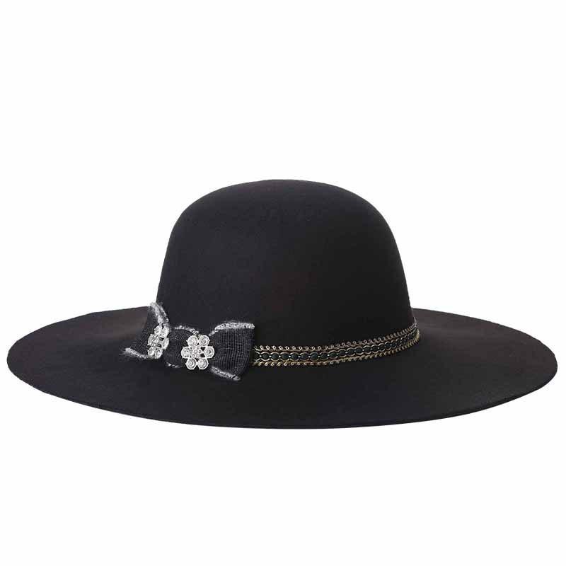 Primavera 2020 Nuovo cappello da donna di moda di lana di Big Big Edge