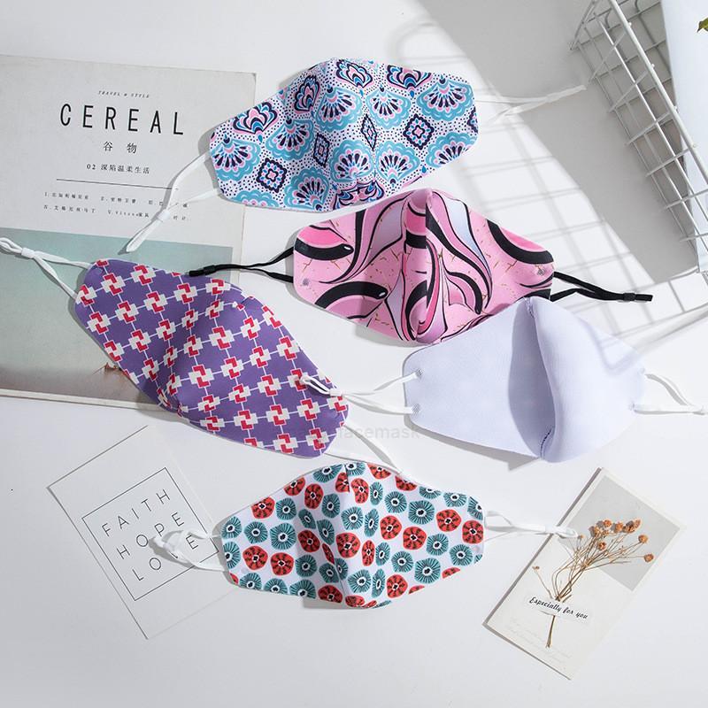 fashion men women designer cotton reusable face masks adult Adjustable ear buckle mask soft breathable anti duXH6VQC