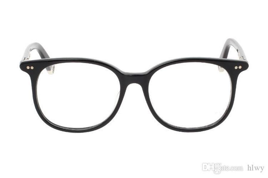 Vente chaude marque design Lunettes de lunettes hommes femmes lunettes cadre Cadre Computer Glasse Verres optiques Oculos de Grau Mothe Rfungis 52mm avec étui