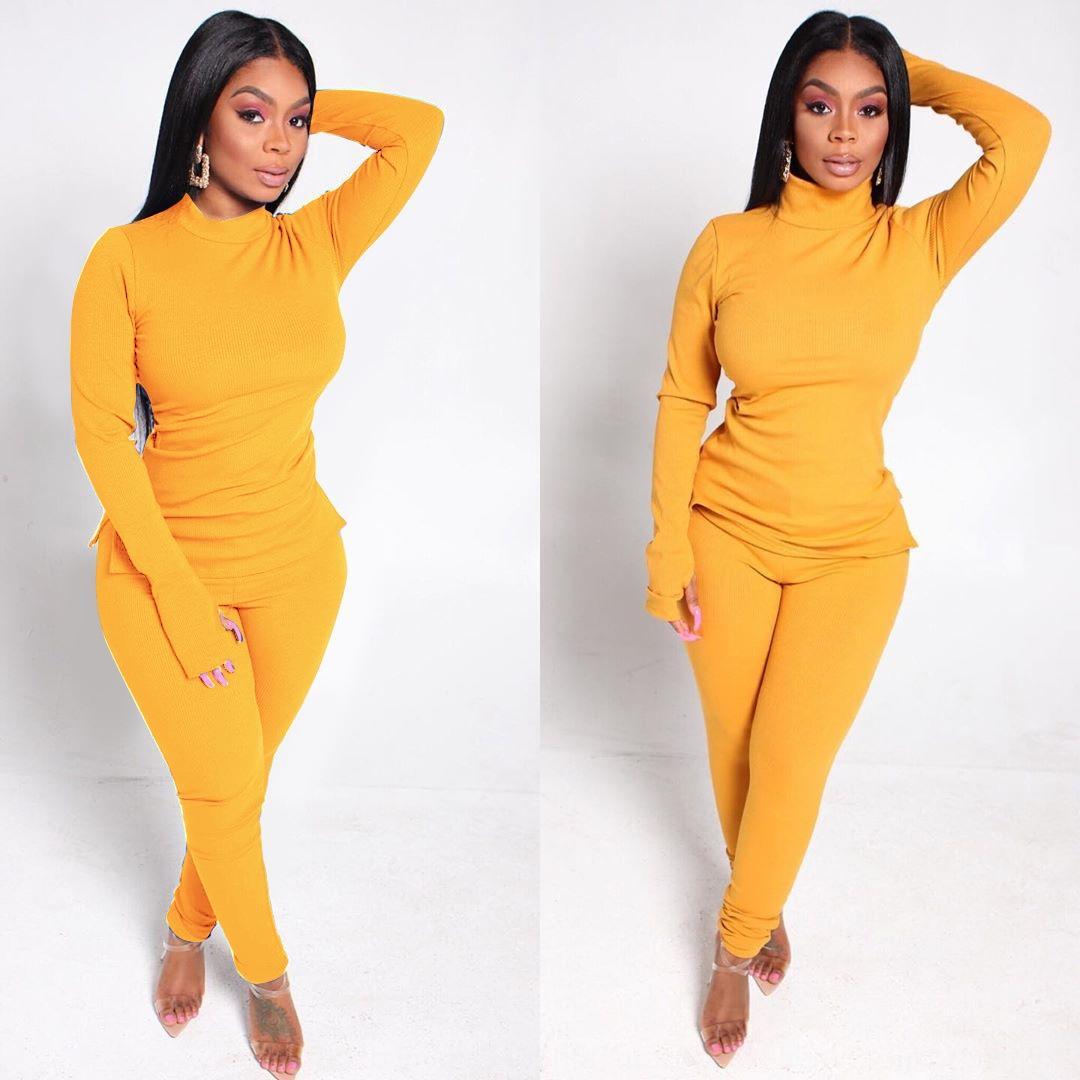 f0cb mulheres s designers tracksuits 2 peça conjunto inverno moda roupas letra sportswear manga longa calça jogging ternos nova moda
