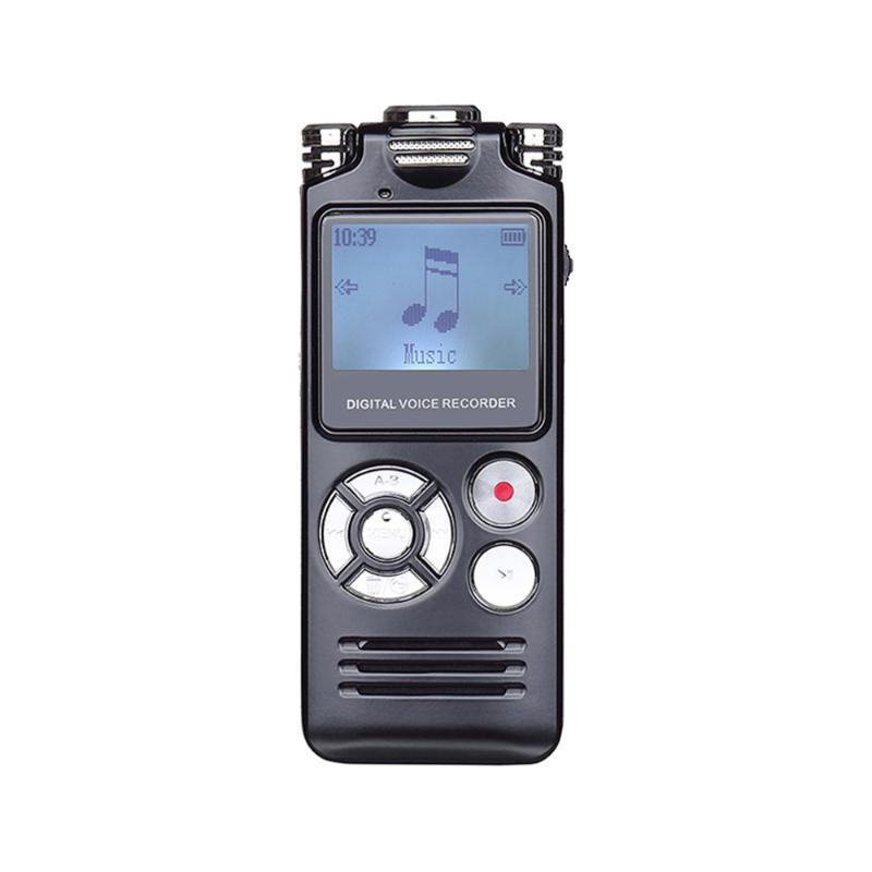 الرقمية مسجل الصوت القلم الصوت المهنية dictaphone المحمولة HD ستيريو صوت الضوضاء تخفيض WAV مشغل mp3
