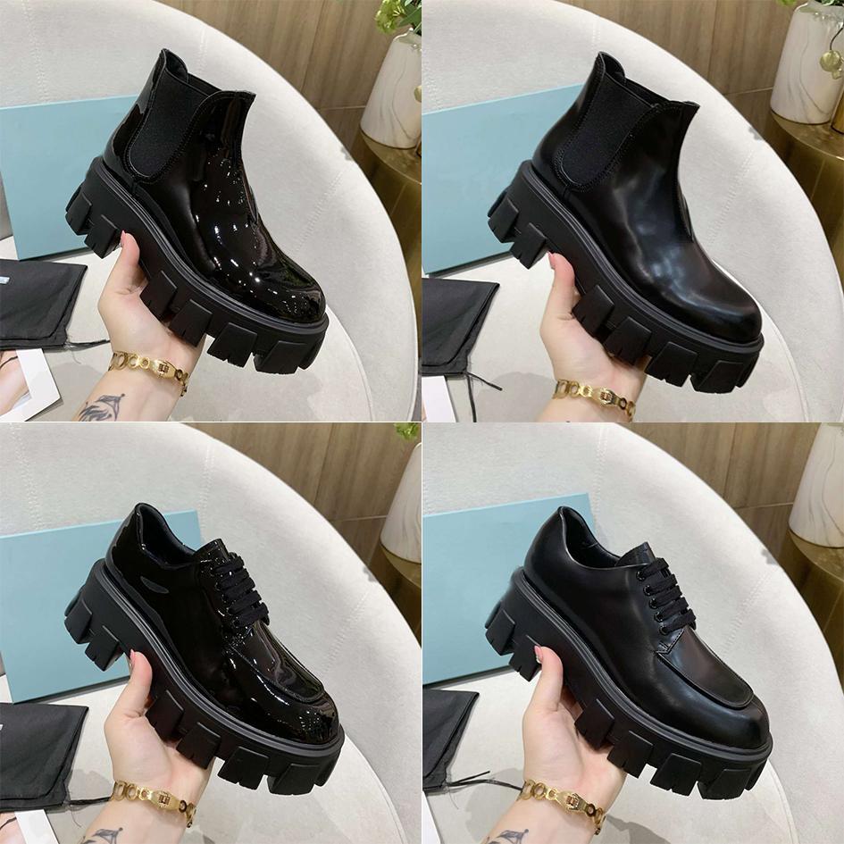 2021 Женщины Дизайнеры Университет Обувь Rois Кожа и Нейлон Мартин Сапоги для Женщин Съемная Леди Открытая Обувь Попети