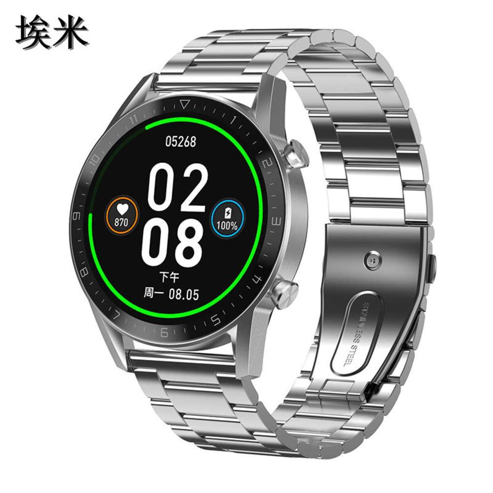 Nouveau DT92 Color Color Screen Call Smart Bracelet Langue Multi-cadran Bluetooth Sport Watch