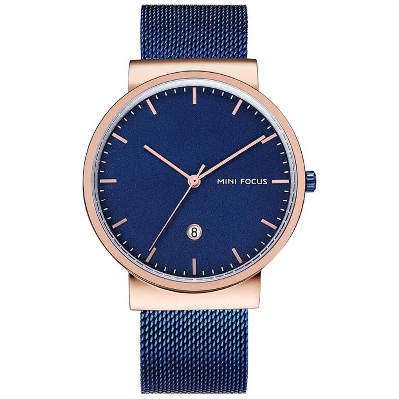 Tempo speiale 2020 cinturino in rete quadrante moda uomo orologio da uomo Top Brand Brand Brand Chronograph Sport Quarzo Orologi impermeabili Relogio Masculino