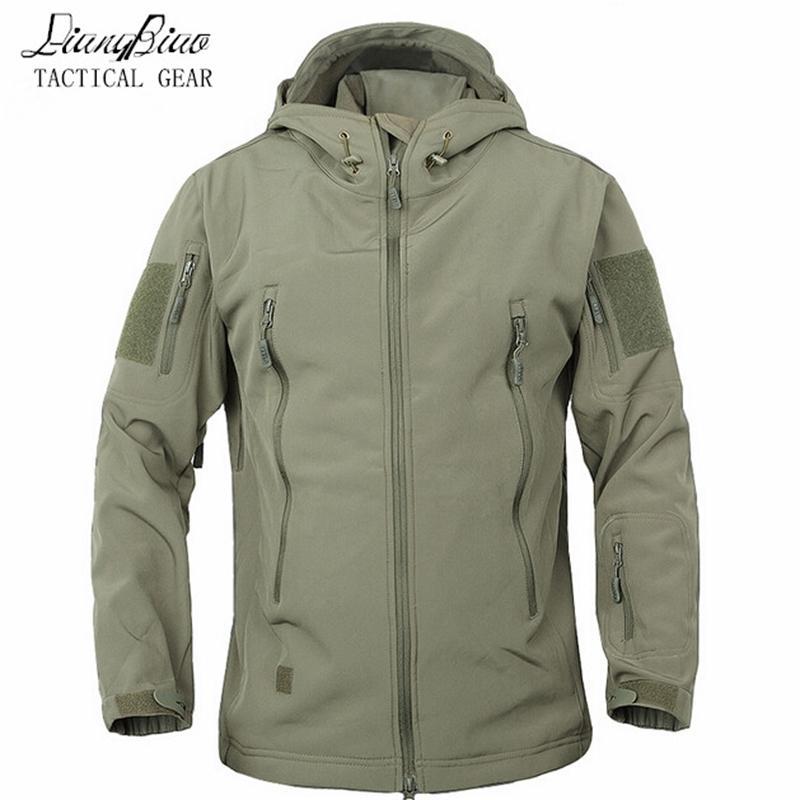 Ordu Kamuflaj Ceket Askeri Ceket Su Geçirmez Rüzgarlık Raincoat Hunt Giysileri Ordu Erkekler Giyim Taktik Ceketler ve Mont 201123