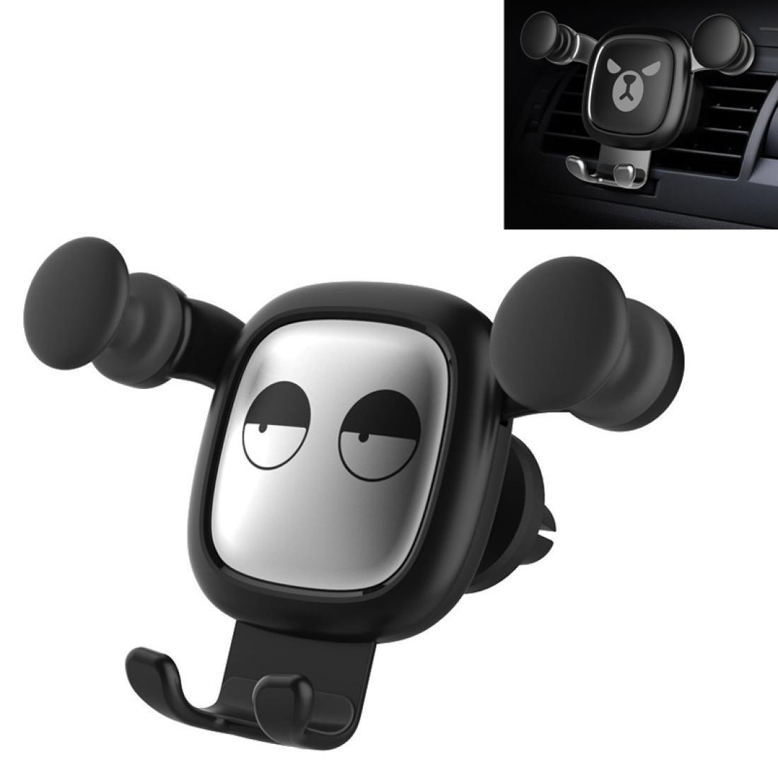 Grandes olhos padrão de gravidade de desenhos animados desenhos de ar de veado carro suporte de telefone