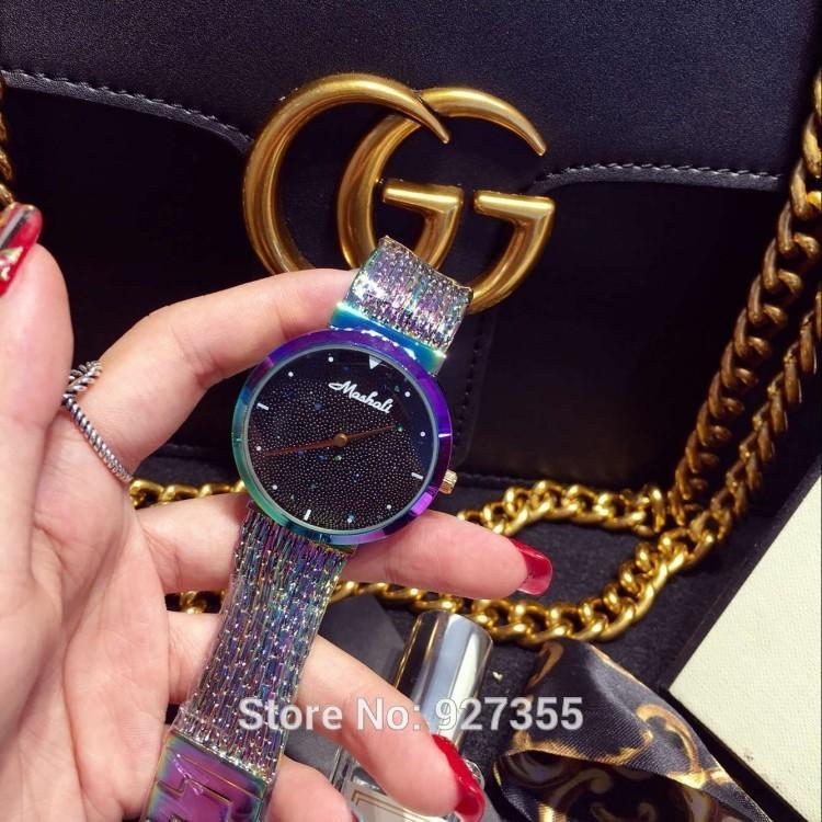 2020 Nova Chegada Mulheres Assista! Luxo Moda Cristal Mulheres Pulseira Relógio Feminino Vestido Relógio Senhoras Relógios de Relógios de Relógios J1205
