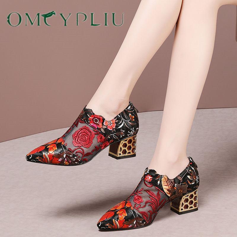 Botas mujeres 2021 sexy hueco de lujo de lujo más tamaño apuntado tacones altos tacones mujer sandalias zapatos de mujer malla tobillo botas zapato hembra