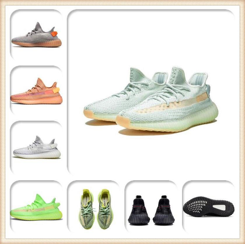 Mens Womens Sports Shoes 2021 Kanye West Ash-Pearl Shoes Top Quality Brand Light Reflective Casual Sneakers Sneakers Skates Skates Taglia 36-48