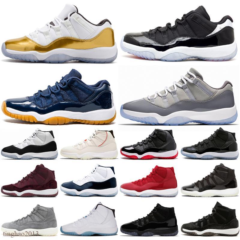 2021 jubileu 25º aniversário 11 homens sapatos de basquete fogo 4 tênis criados 11s gama azul concord espaço gotejar gato preto