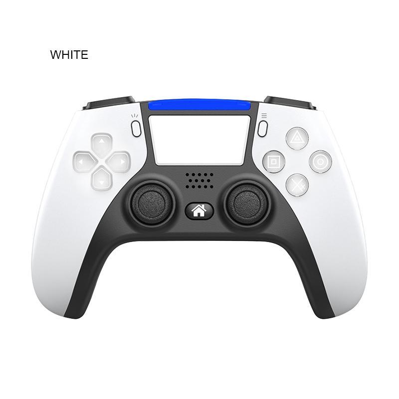 جديد لاسلكي بلوتوث تحكم ل ps5 ps4 صدمة تحكم المقود gamepad لعبة تحكم مع حزمة الشحن السريع