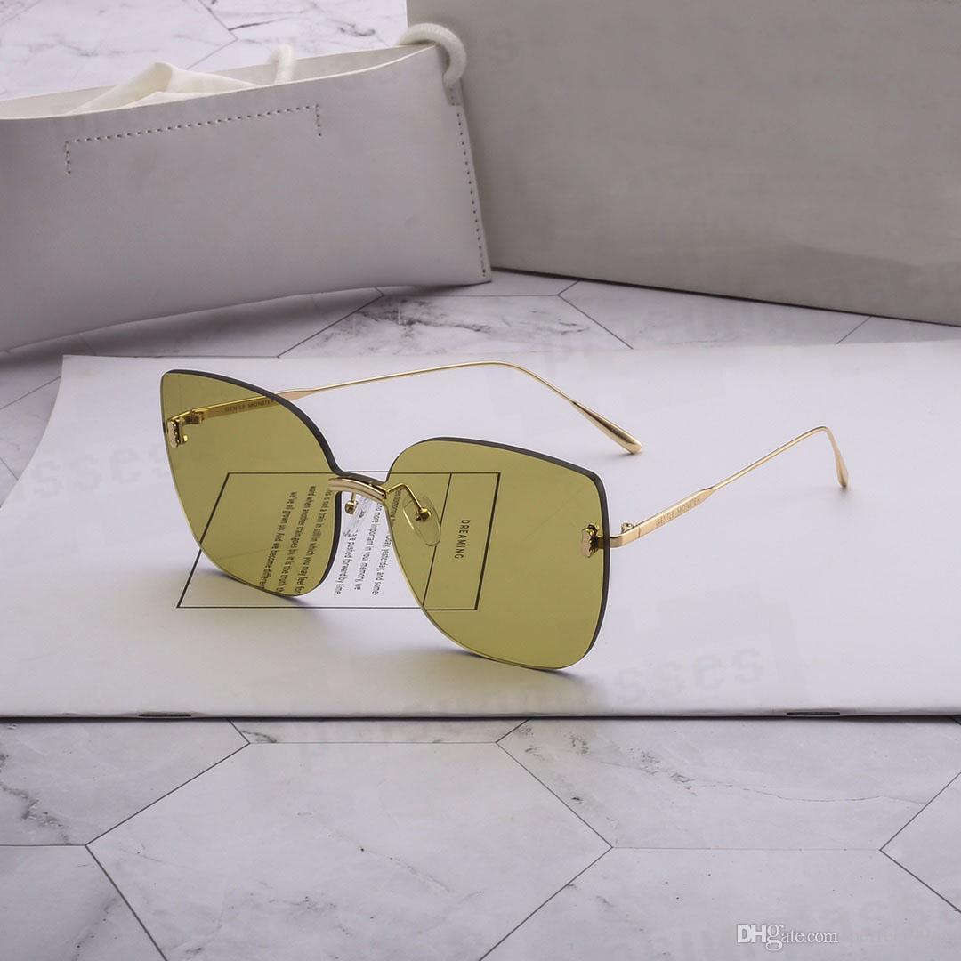 Occhiali da sole delicati del mostro Abbigliamento da sole di moda occhiali da sole GM Occhiali da sole GM Occhiali da sole UV400 Protezione Top Quality