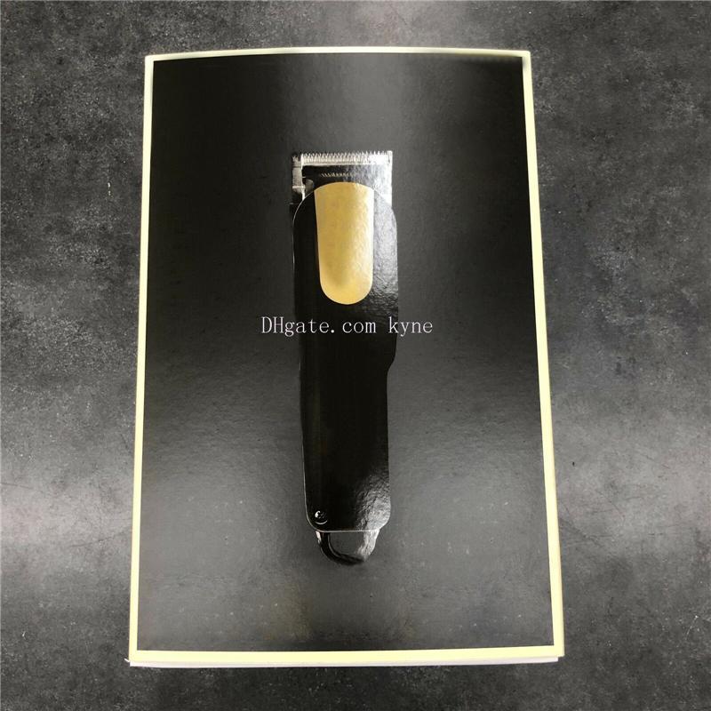 Üst Satıcı 8184 Sihirli Metal Saç Kesme Elektrikli Razor Erkekler Çelik Kafa Tıraş Makinesi Saç Düzeltici Altın Kırmızı 2 Renk