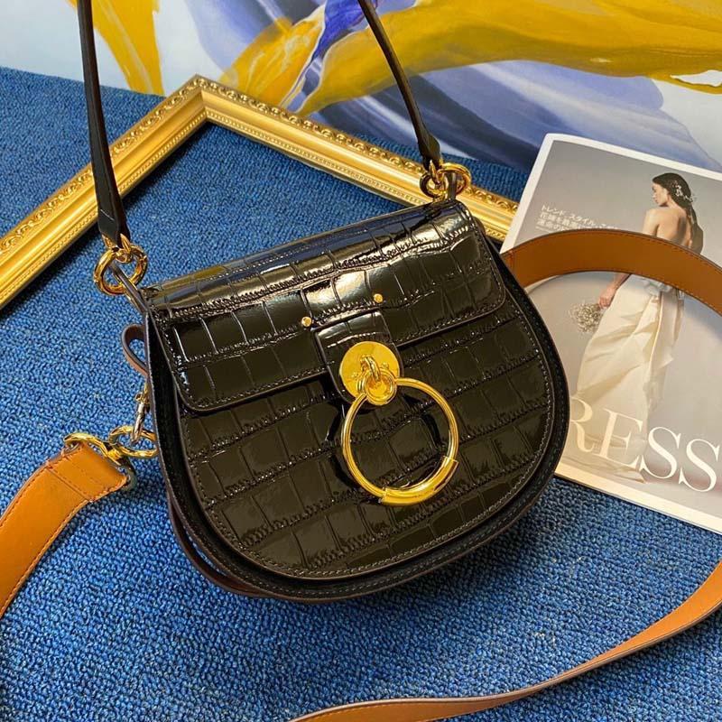 Mulheres de luxo sacos 2021 designer marca saco de sela de couro senhoras crossbody bolsa de corpo de moda bolsa de ombro circular bolsa vintage
