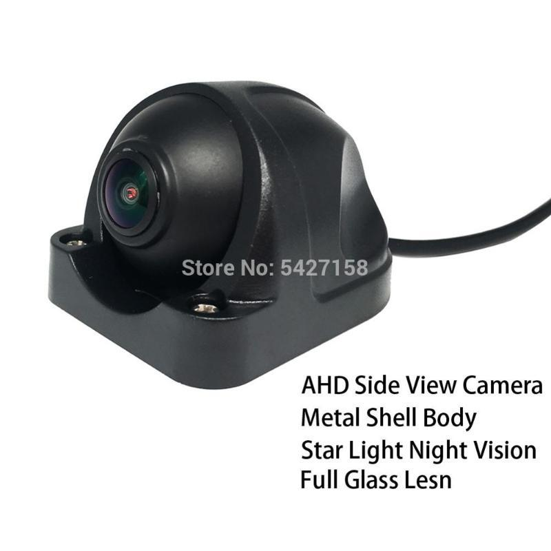 12V Side View Camera 960P Truck AHD Rear View Camera Metal Shell 4 Pin Connector for Bus/Truck/Havester car