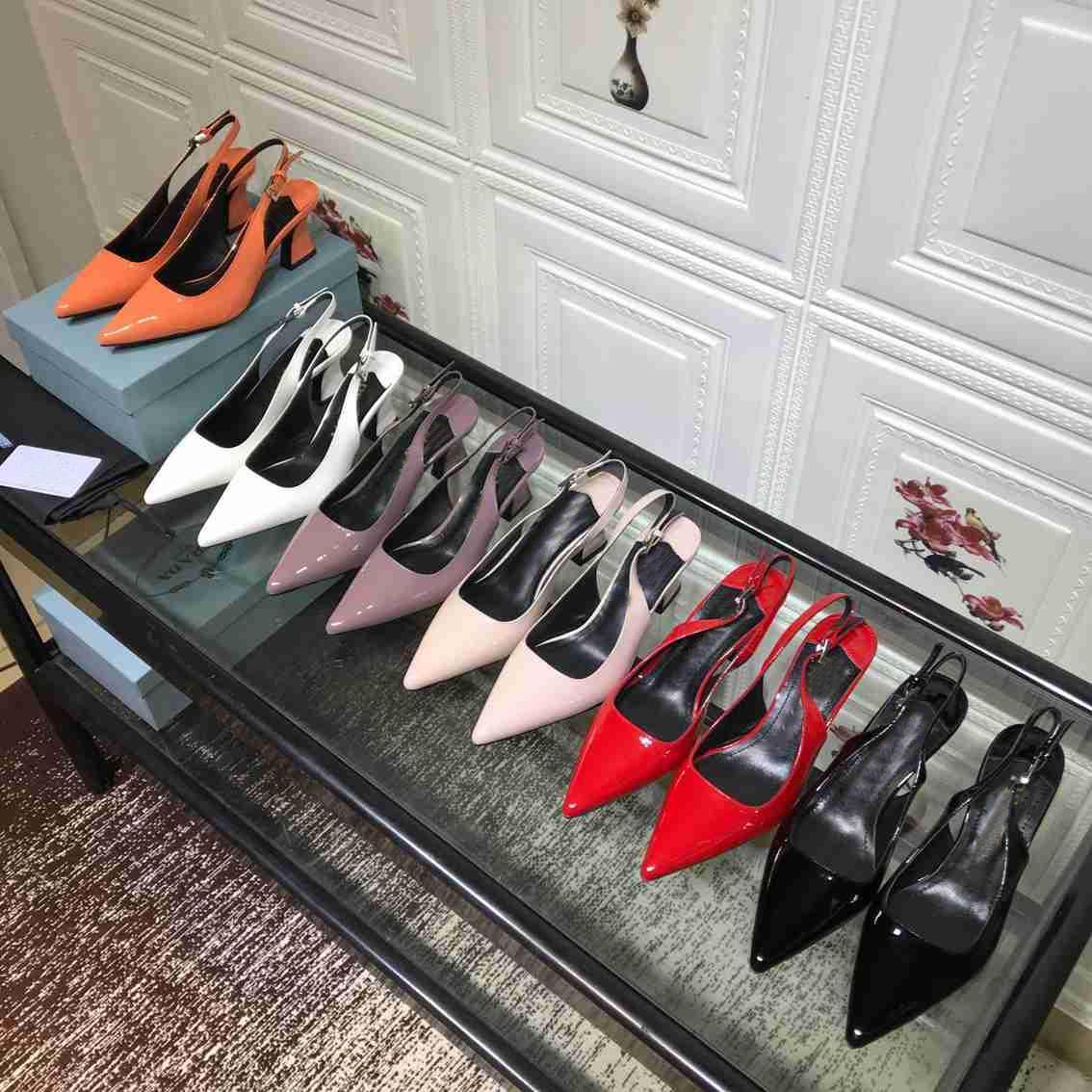 Сексуальные дамы 6.5см туфли на каблуках Женщины взлетно-посадочные полосы заостренные носки нижняя каблука обувь женщина сандалии высшего качества