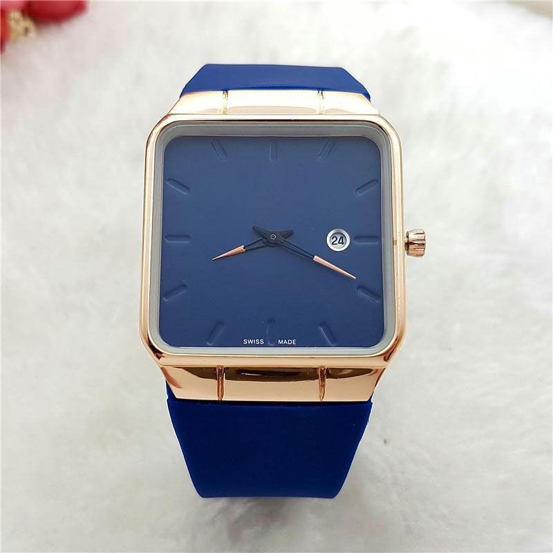 2020 commercio estero caldo con calendario uomo di lusso orologio al quarzo moda casual sportiva cinturino spedizione gratuita reloj de hombre