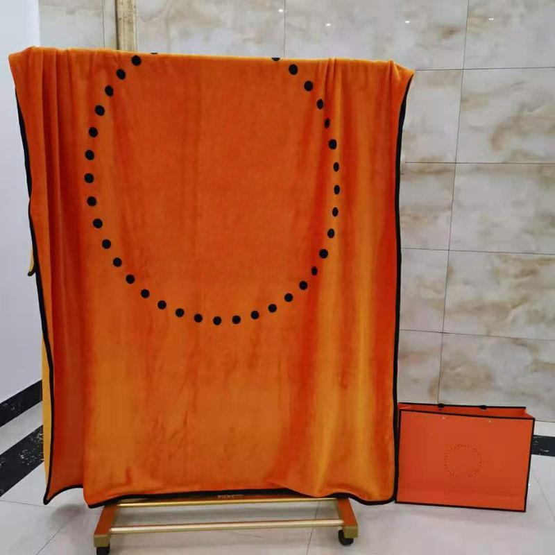 Hiver Automne Home Couvertures Mode Lettre Soft Mollet Couverture Taille 150 * 200cm pour adultes et enfants